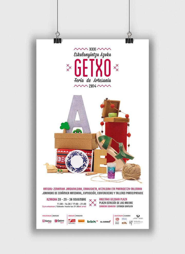 Artesanía Getxocartelería Diseño Editorial Banners